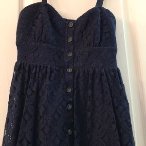 Dresses & Skirts - Cute navy blue dress sz 3, bought st JC Penney's